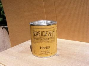 Das Hartöl pure solid ist frei von Lösungsmitteln