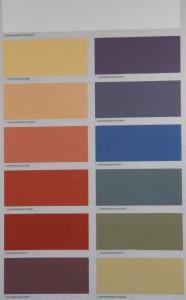 Die Lehmfarben von Kreidezeit enthalten Kasein